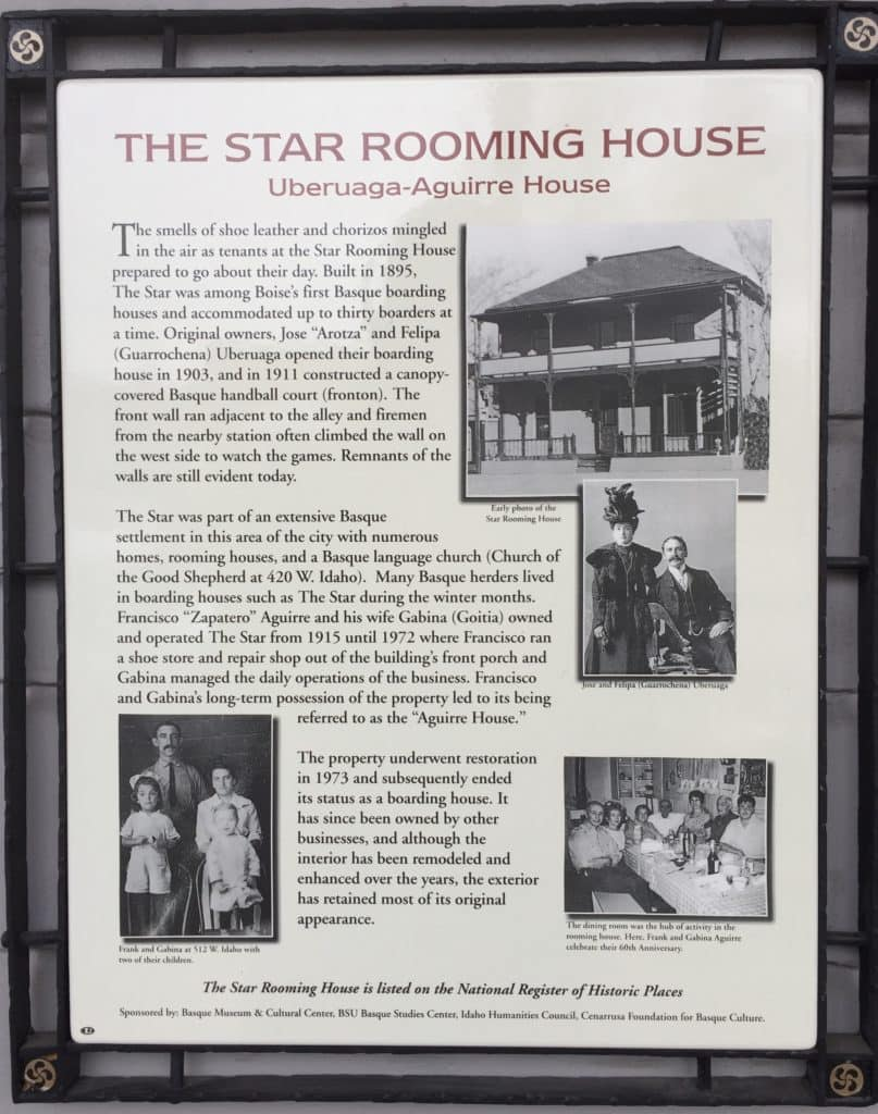 The Star Rooming House 512 W Idaho St
